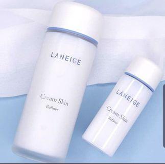 FREE POSTAGE Laneige Cream Skin Refiner 50ml