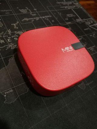 (NEW) Mini Powerbank 10,000mah (RED)