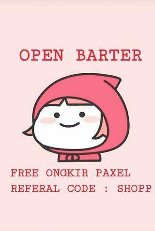 BARTER YUK! FREEONGKIR  PAXEL, CODE REFERAL: SHOPP  #Maugendongan