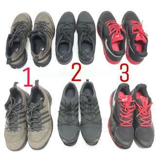 MINOR FAULTY Combo Original Adidas Nike Shoes UK 10