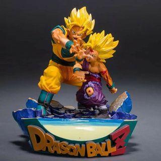 Dragon Ball super saiyan son goku son gohan 18cm action figure