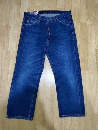 Bobson Blue Straight Cut Jeans (Included Postage)