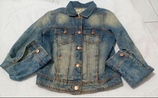 Denim Jacket Zara #Maugendongan