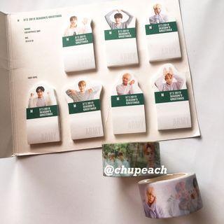 BTS 2019 sg masking tape