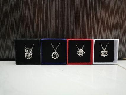 I love you light necklace