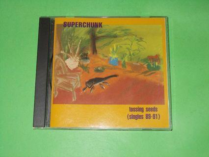 CD SUPERCHUNK : TOSSING SEEDS (SINGLES 89-91) ALBUM INDIE POST PUNK