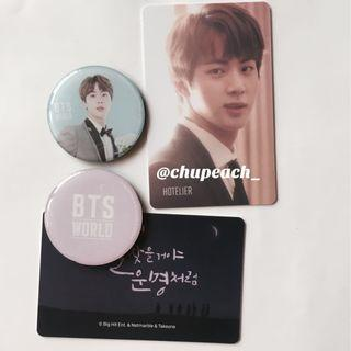 BTS World magnet and storycard