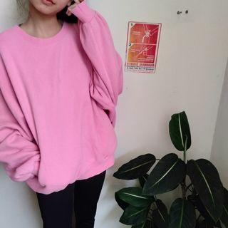 Korean PINK Oversized Sweater