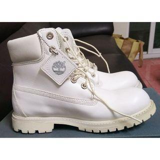 Timberland  絕對正版 經典白靴