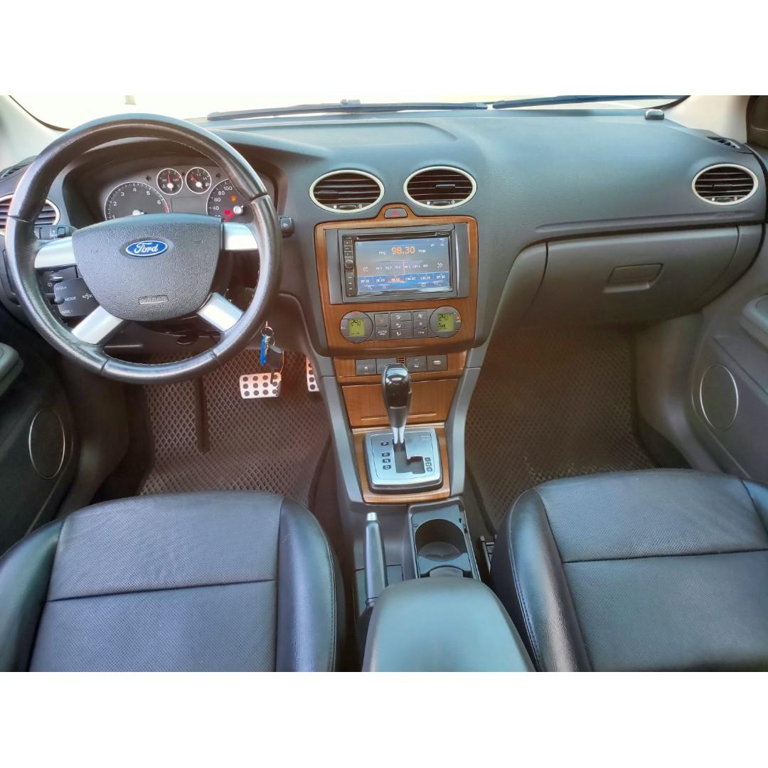 《鑫宏車業》車輛目前在新北市,2007年福特佛克斯4門2.0,雙安、ABS、恆溫、液晶螢幕....歡迎預約來店賞車