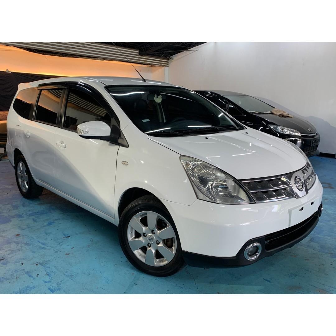 正2013年 小改豪華頂級版七人座 Nissan Livina 1.8  只賣您23.8萬