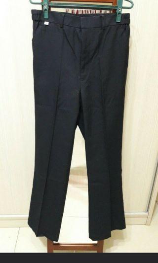 男XL-西裝式工作褲(深藍色)