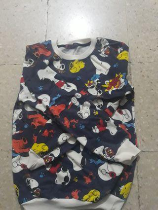 Sweater Snoopy Space