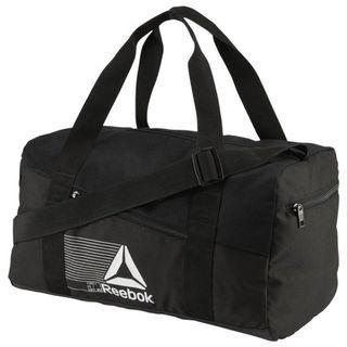 """ACTIVE FOUNDATION GRIP DUFFEL BAG SMALL "" Reebok 全新 黑色 S 行李袋 旅行袋 肩背包 運動包 健身包 訓練包 裝備袋 DU2997"