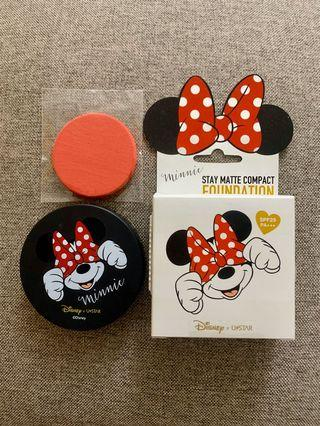 DISNEY X USTAR Minnie Stay Matte Compact Foundation