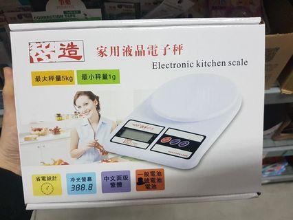 全新家用液晶電子秤5KG-1G 省電設計