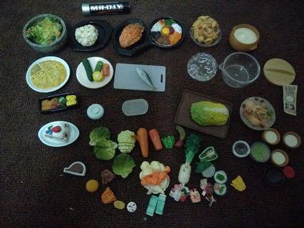 Sylvanian families food set