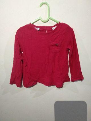 Long Sleeve Zara 12-18 Month