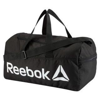 """ACTIVE CORE MEDIUM GRIP "" Reebok 全新 黑色 M 行李袋 旅行袋 肩背包 運動包 健身包 訓練包 裝備袋 DN1521"