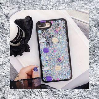 ⚡️Dynamic Liquid Sand Sparking Galaxy iPhone 7 Plus Case