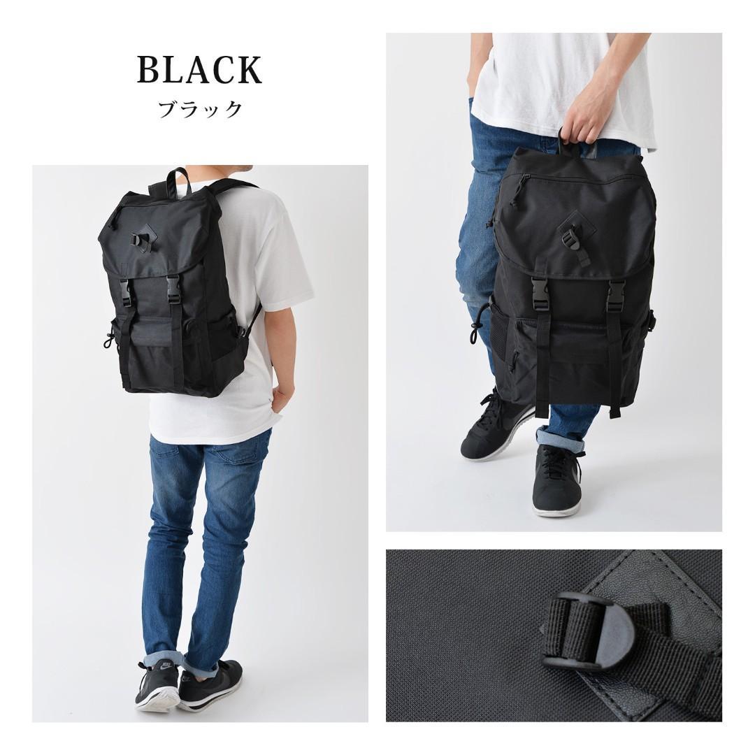 ((現貨價$258)) 黑色 迷彩 日本直送 AVANT 大容量 書包 背囊 旅行 男女啱用