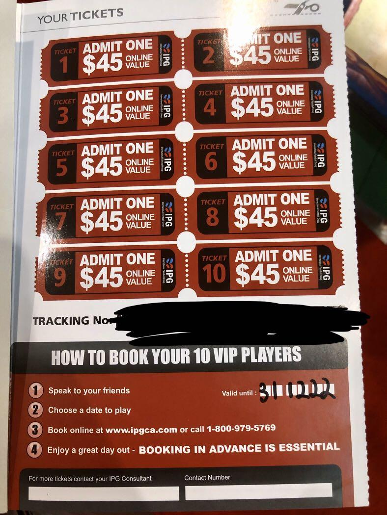 30 PAINTBALL TICKETS AVAILABLE