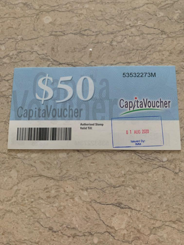 $340 CapitaVouchers