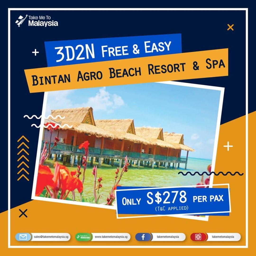 3D2N Bintan Agro Resort & Spa (Deepavali Special Trip)