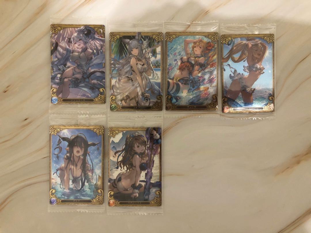 (麻煩請先詢問款式)碧藍幻想收集卡