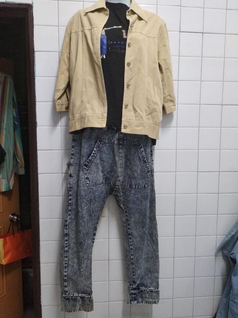 代賣古著牛仔褲 都找不到重覆的