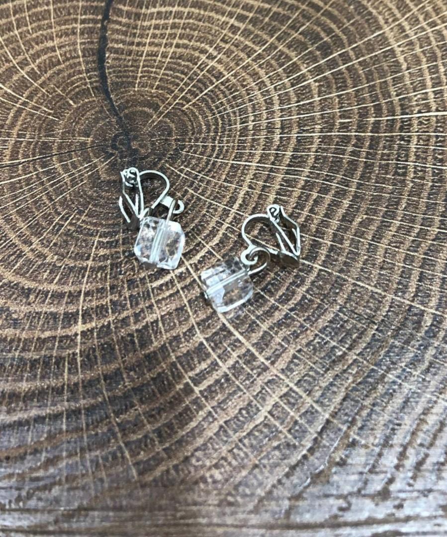 耳夾式耳環