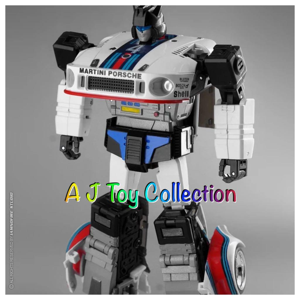 Transformers Transform and Rollout TnR TR-01 Agent Meister MP JAZZ In Stock MISB