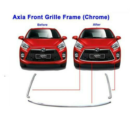 Axia SE front grill chrome lid