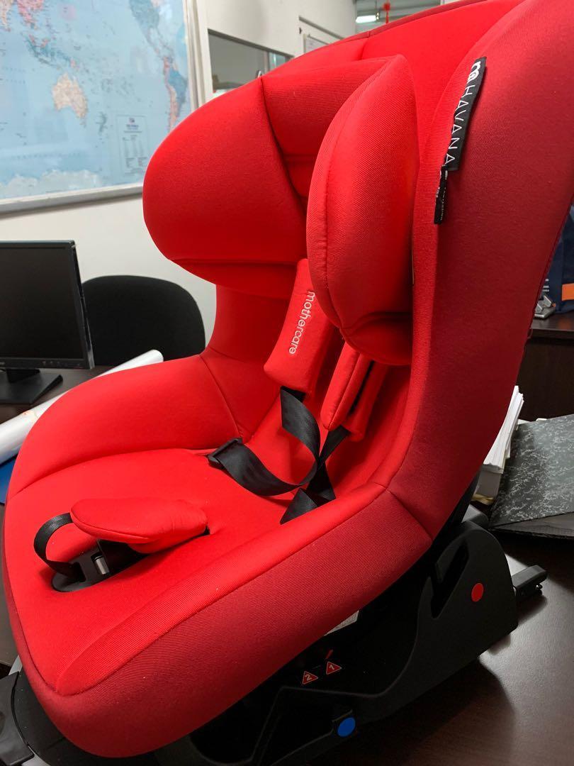 Baby isofix car seat Mothercare Havana
