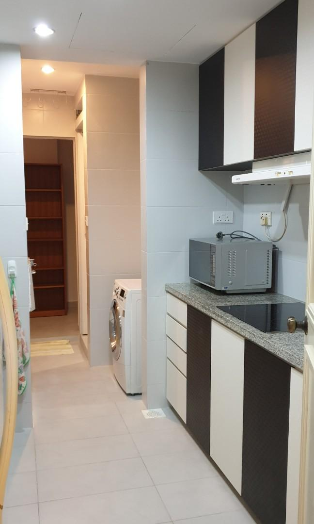 Beautiful and renovated with short scroll to marymount MRT high floor 3bdr for Sale