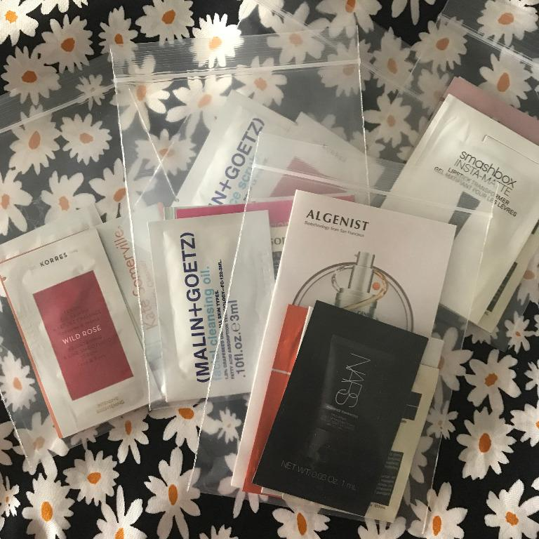 Beauty Samples (postage included). Brands include: NARS, Hourglass, Too Faced, Smashbox + MORE