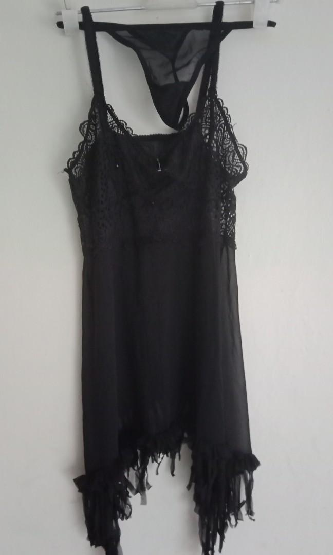 Black Lingerie sexy 65rb