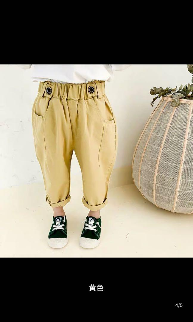Boys' leisure trousers.