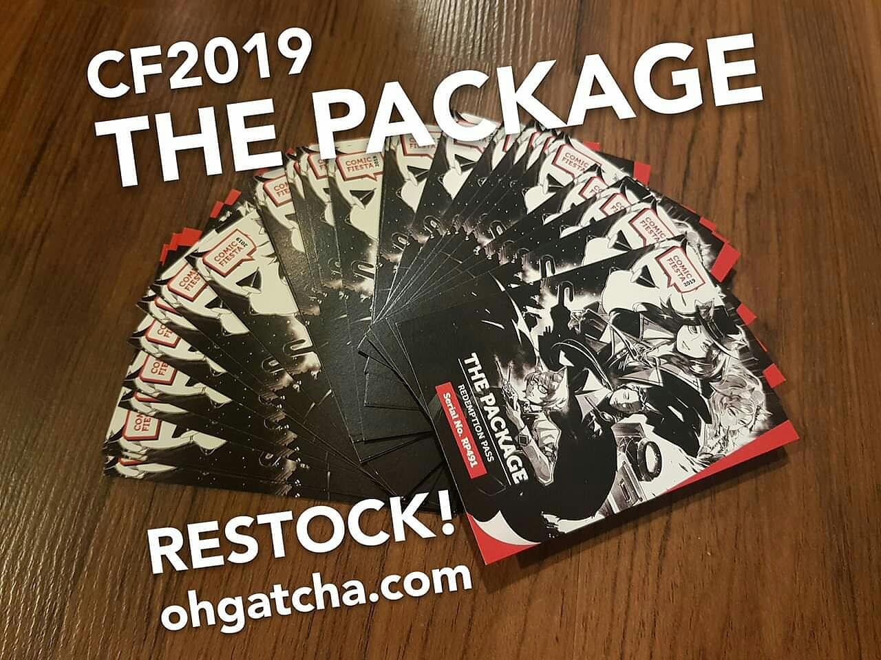 [INFO] Comic Fiesta 2019 The Package @ Oh! Gatcha Online Shop