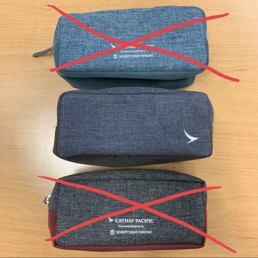 CX CPA Cathay Pacific Airways Limited x Seventy Eight Percent Business Class Unisex Amenity Kit Set 國泰航空公司 商務護理套裝 國泰商務艙
