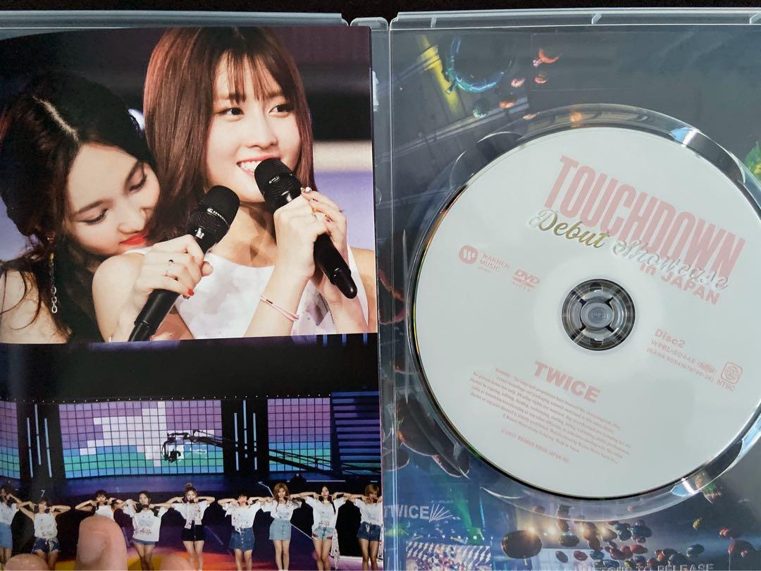 "DEBUT SHOWCASE ""Touchdown in JAPAN"" [2DVD] (Japan Version) (unsealed)"