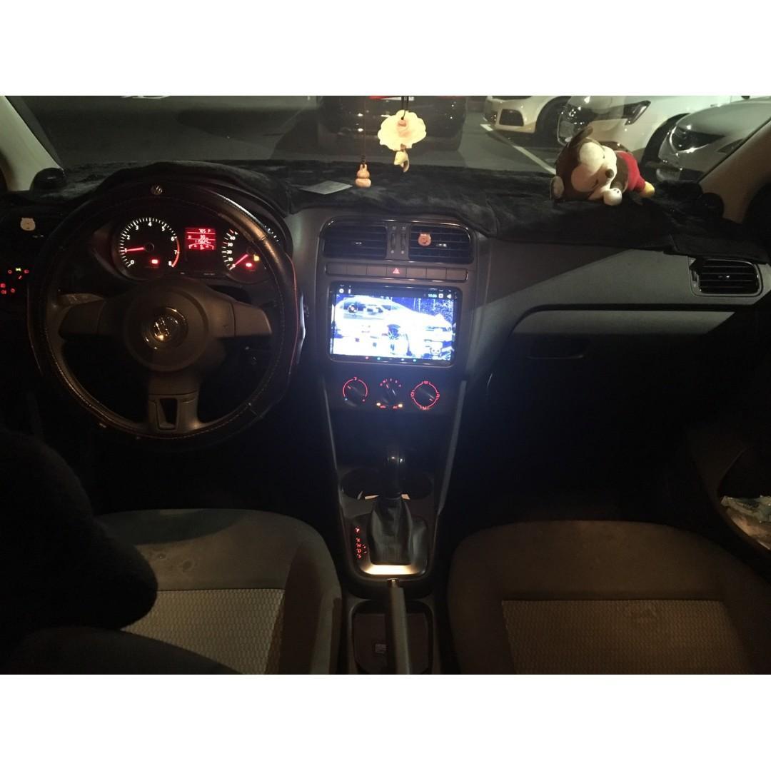 【FB搜尋桃園阿承】福斯 超人氣POLO跑11萬 2014年 1.6 白色 二手車 中古車
