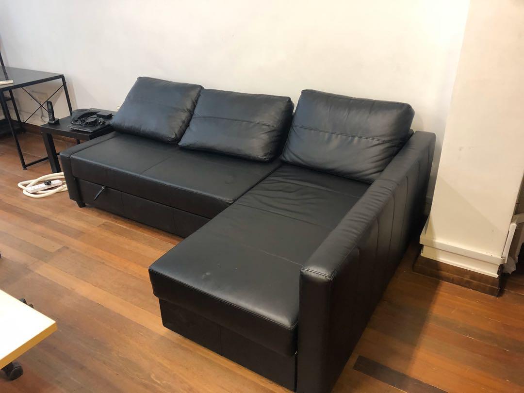 Friheten Ikea Corner Sofa Bed With