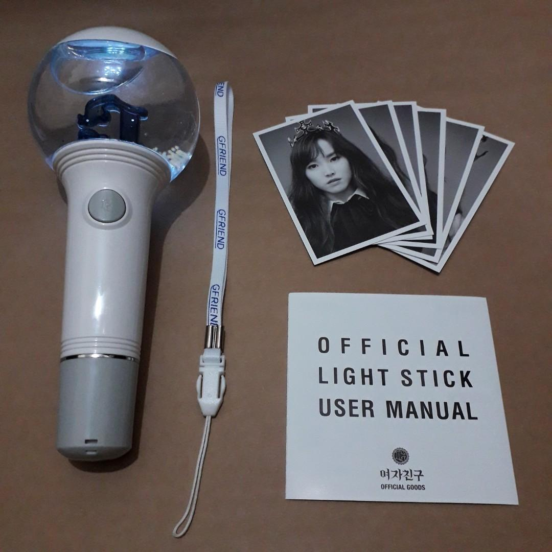 GFRIEND LIGHTSTICK VERSION 2 BAM HANEUL BONG FULL SET