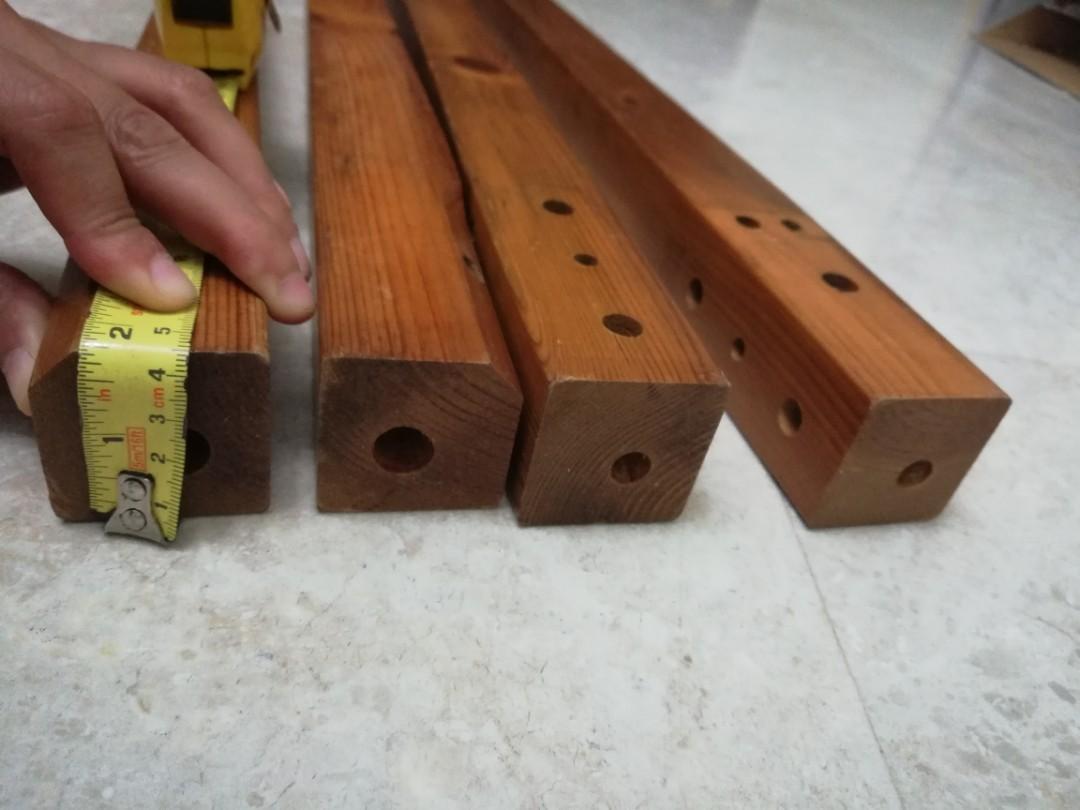 Free good quality Pine Wood Table legs