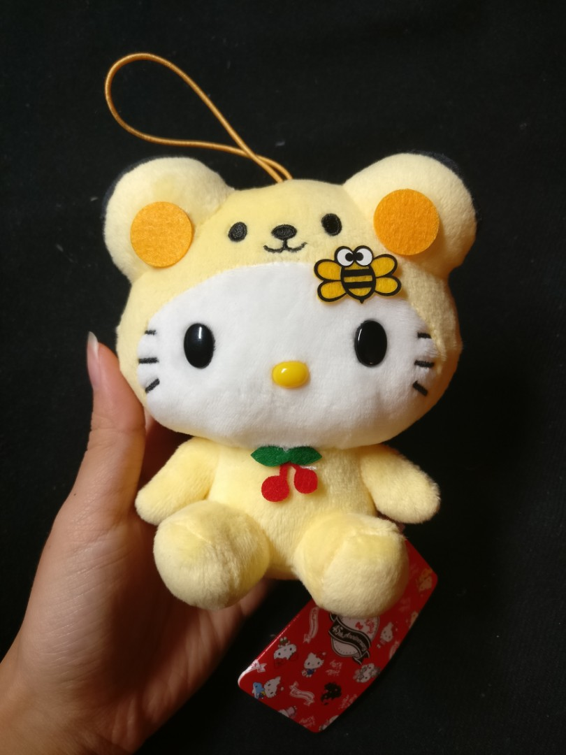 Hello Kitty 45th anniversary plush stuffed toy accessory