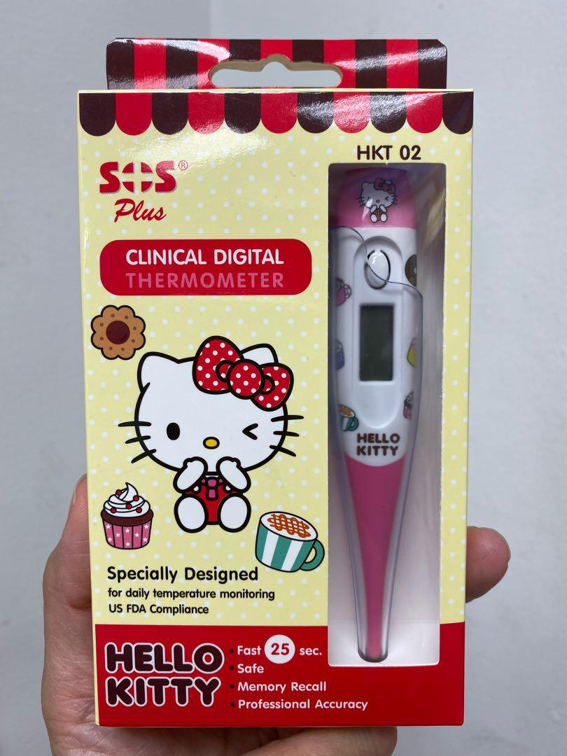 Hello kitty digital thermometer