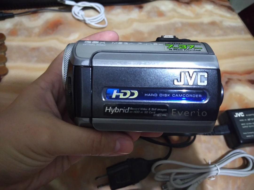 JVC Everio Harddisk Camcorder GZ-MG155AS
