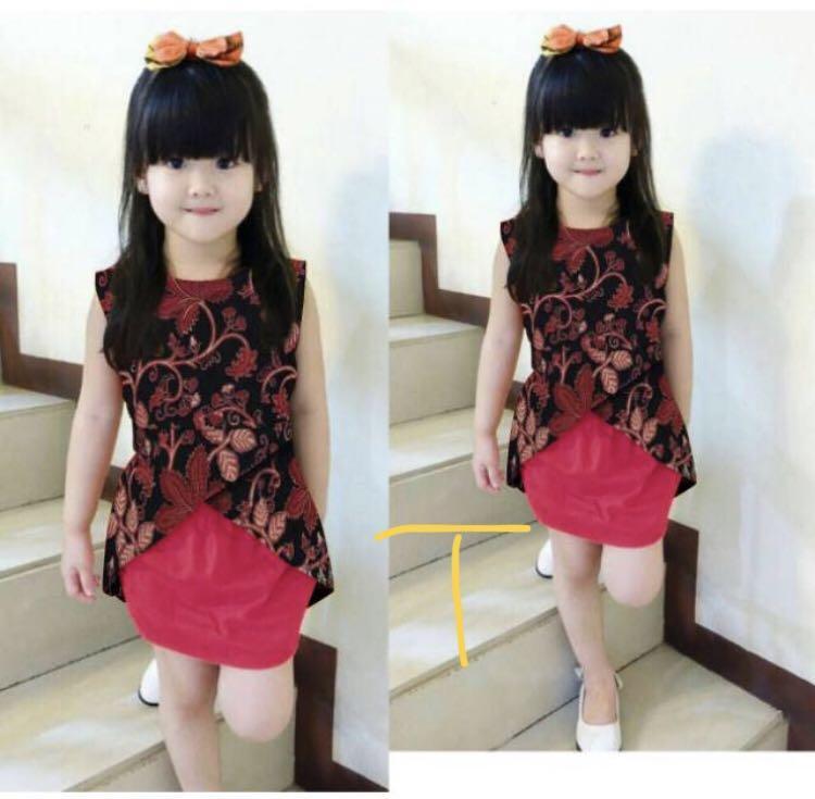 Kebaya set girl's outfit cute