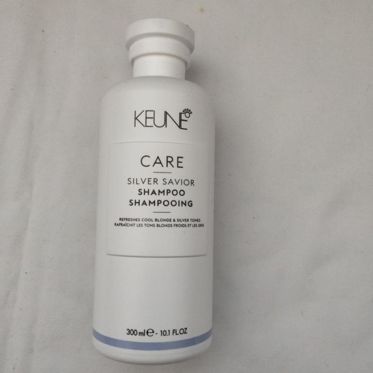 Keune Silver Savior Shampoo - Purple Shampoo Toner for Blondes